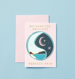 type and story We make the Absolute Perfect Pair Card
