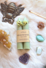 *Litrituals Small 'Meadow Maiden' Beeswax Altar Candles