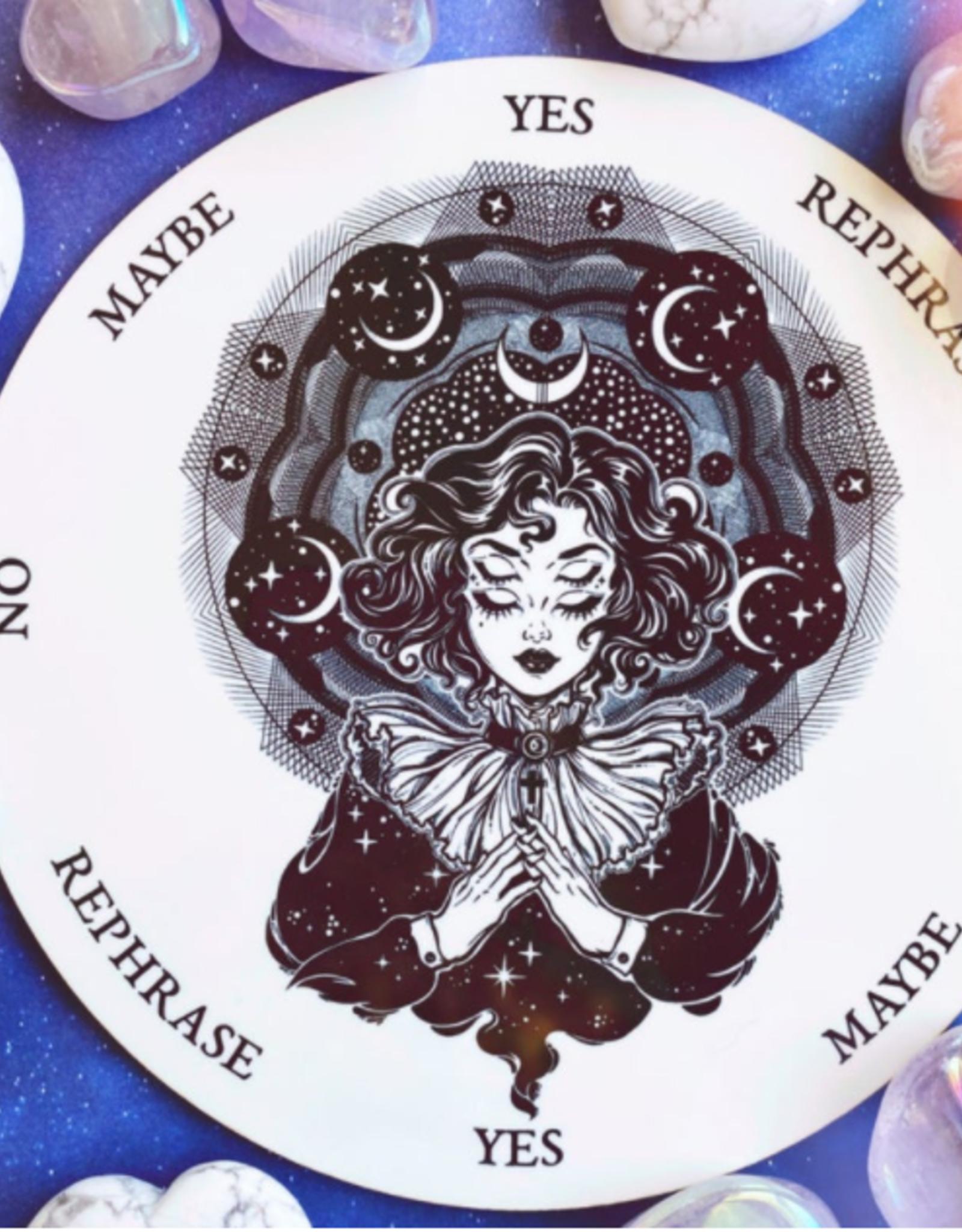 Flora and Nirvana Astral Girl Pendulum Board