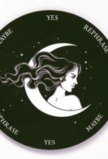 Flora and Nirvana Lady Moon Pendulum Board