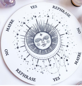 Flora and Nirvana Sleeping Sun and Moon Pendulum Board