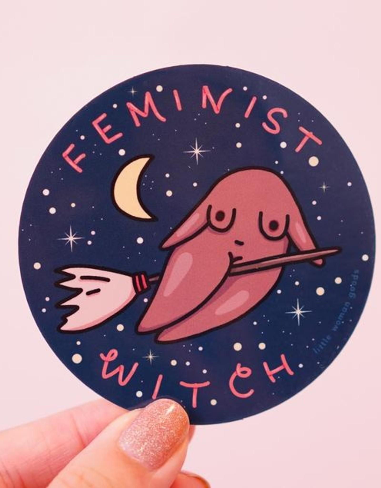 Little Woman Goods Witch Vinyl Sticker*