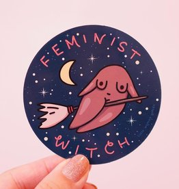Little Woman Goods Witch Vinyl Sticker*
