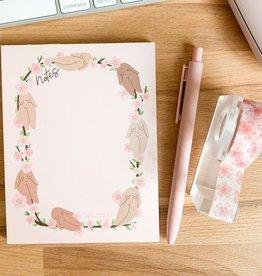 Little Woman Goods Cherry Blossom Notepad (DC)