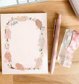 Little Woman Goods Cherry Blossom Notepad