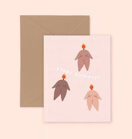 Little Woman Goods Feminist Birthday Card