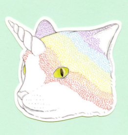Bee's Knees Industries Rainbow Caticorn Vinyl Sticker
