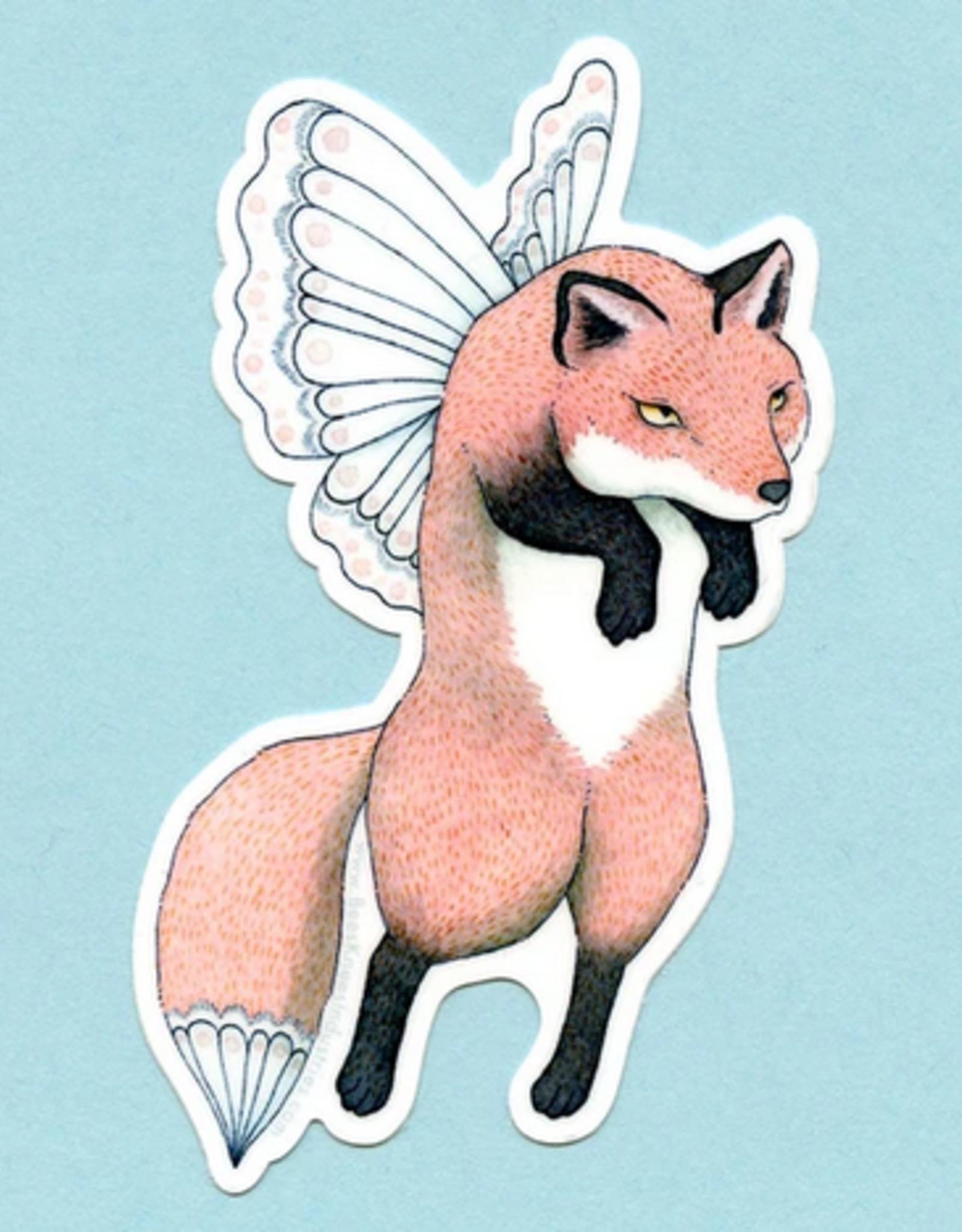 Bee's Knees Industries Fox Faerie Vinyl Sticker