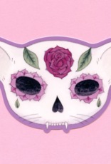 Bee's Knees Industries Rose Sugar Skull Vinyl Sticker