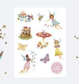 Ingrid Press Fairy Party | Vinyl Die-Cut Sticker Sheet