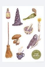 Ingrid Press Witchy Magic | Vinyl Die-Cut Sticker Sheet