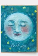 Ingrid Press Thank You Moon Card