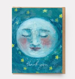 Ingrid Press Thank You Moon Card
