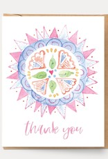 Ingrid Press Thank You Mandala Card