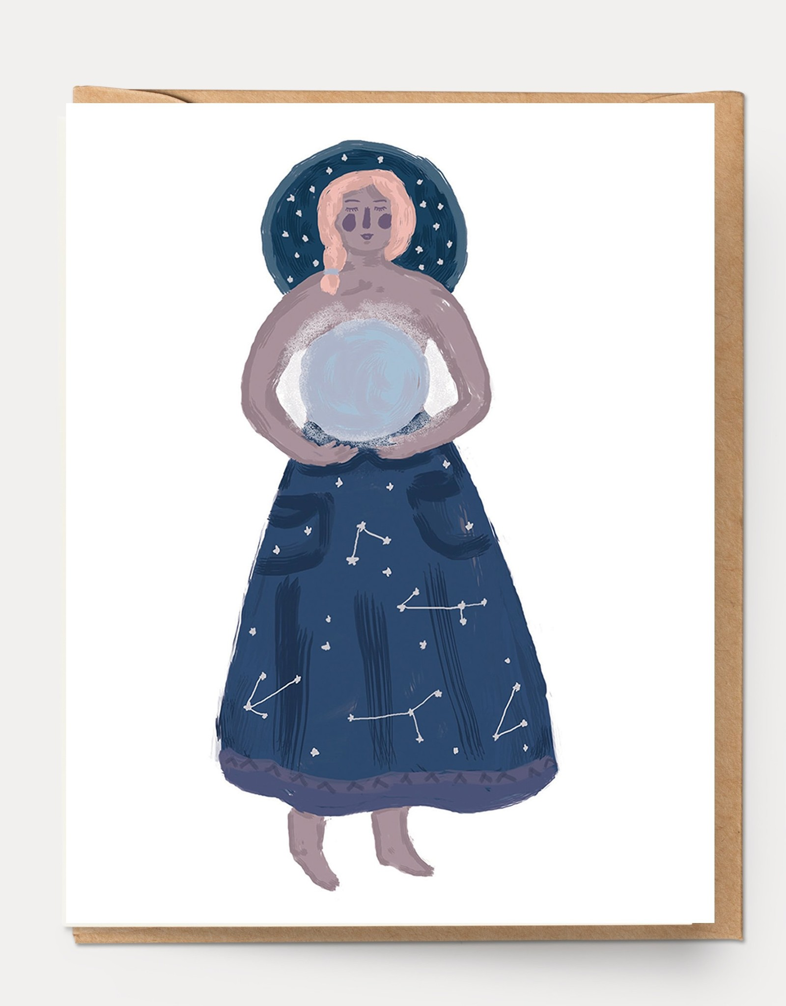 Ingrid Press Moon Goddess Card