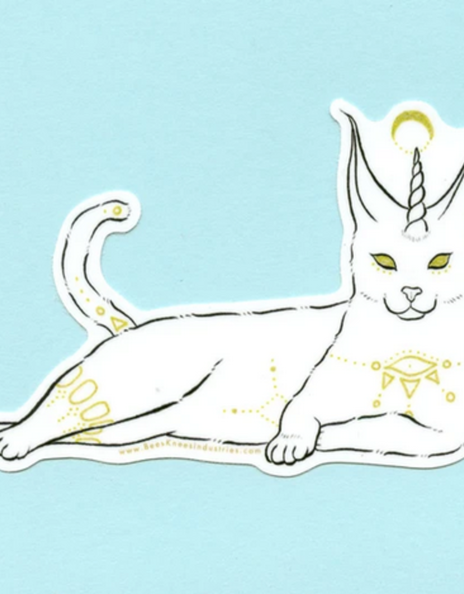 Bee's Knees Industries Fantastical Caracal Vinyl Sticker