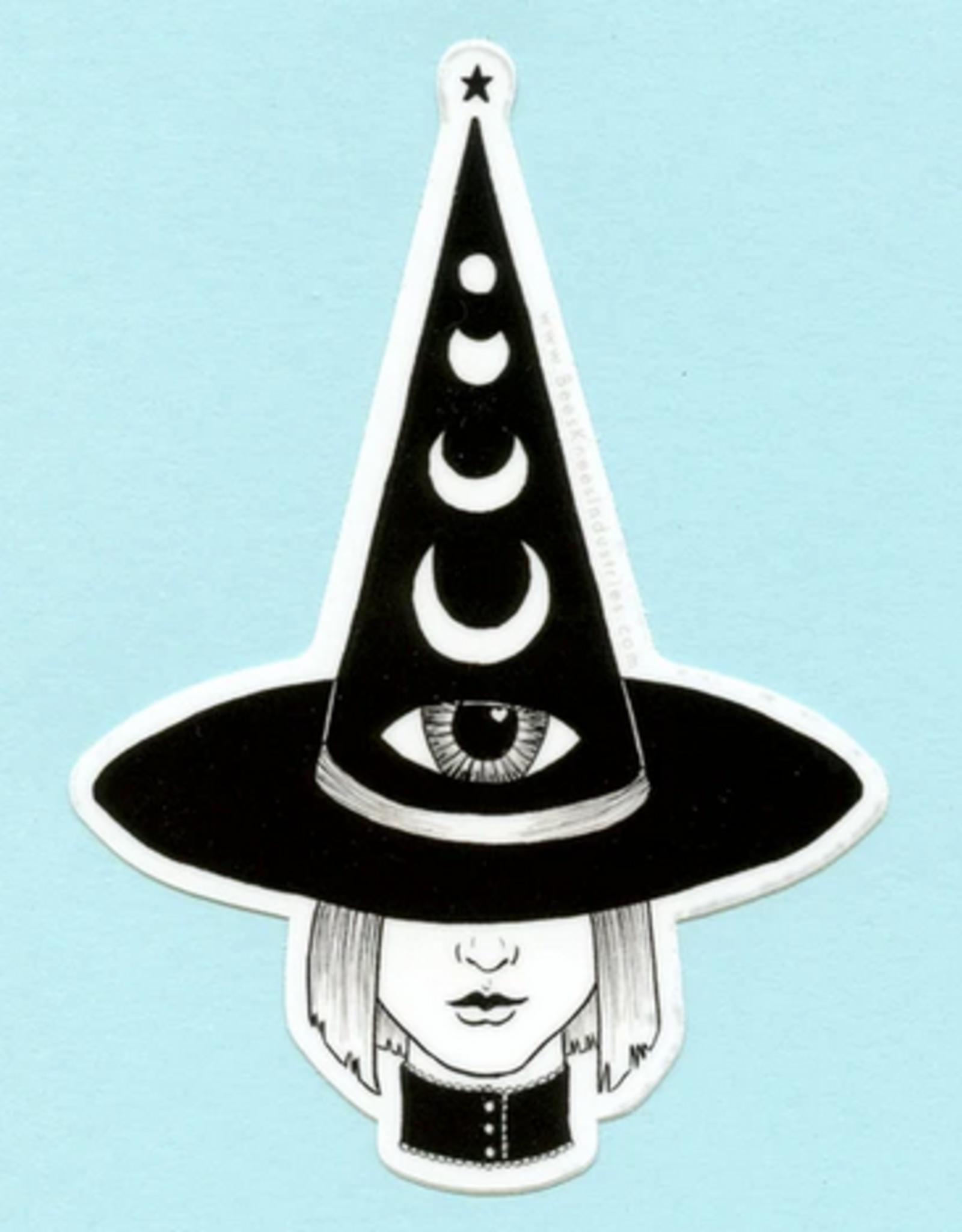 Bee's Knees Industries Third Eye Witch Vinyl Sticker