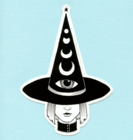 Bee's Knees Industries Third Eye Witch Vinyl Sticker