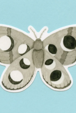 Bee's Knees Industries Lunar Moth Vinyl Sticker*
