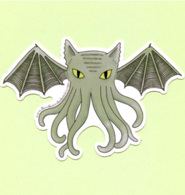 Bee's Knees Industries Cat-thulhu Vinyl Sticker