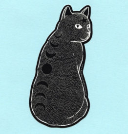 Bee's Knees Industries Moon Phase Cat Vinyl Sticker