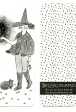 Bee's Knees Industries Starry Witch Bookmark*