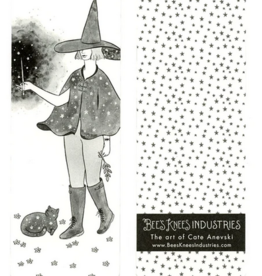 Bee's Knees Industries Starry Witch Bookmark