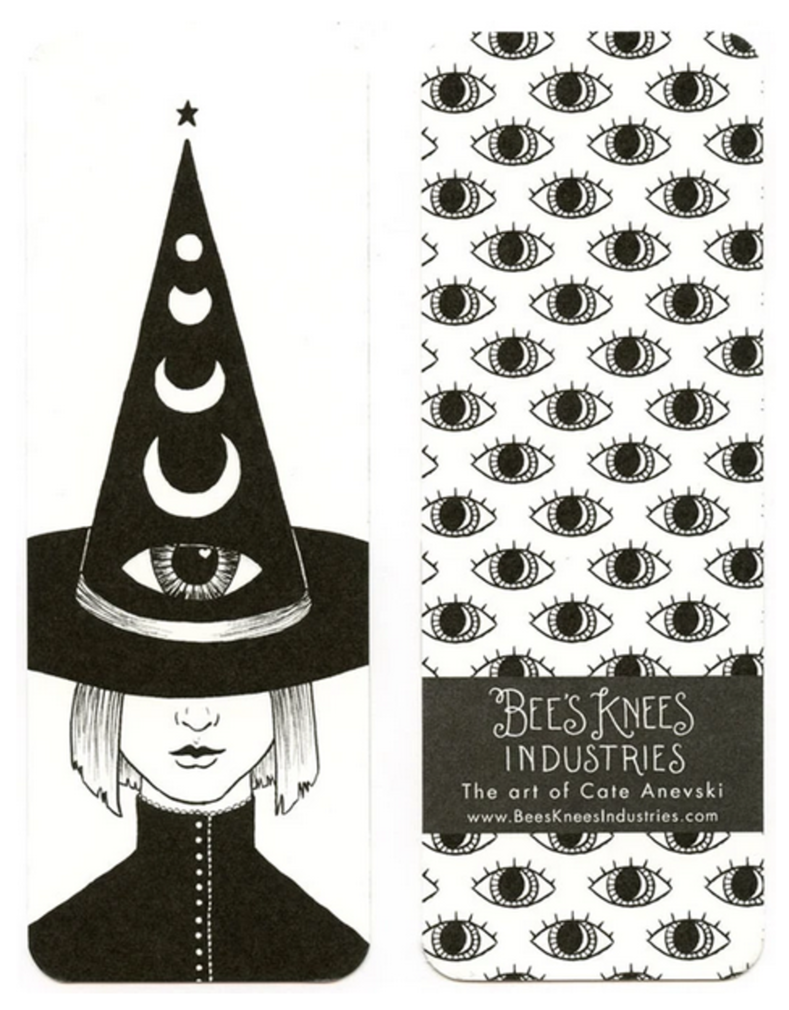 Bee's Knees Industries Third Eye Witch Bookmark