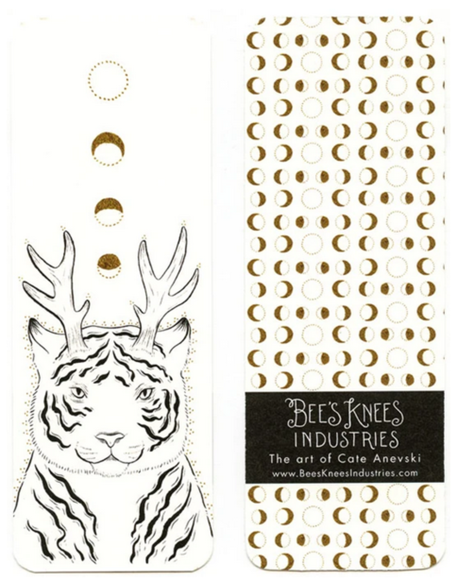 Bee's Knees Industries Fantastical Tiger Bookmark