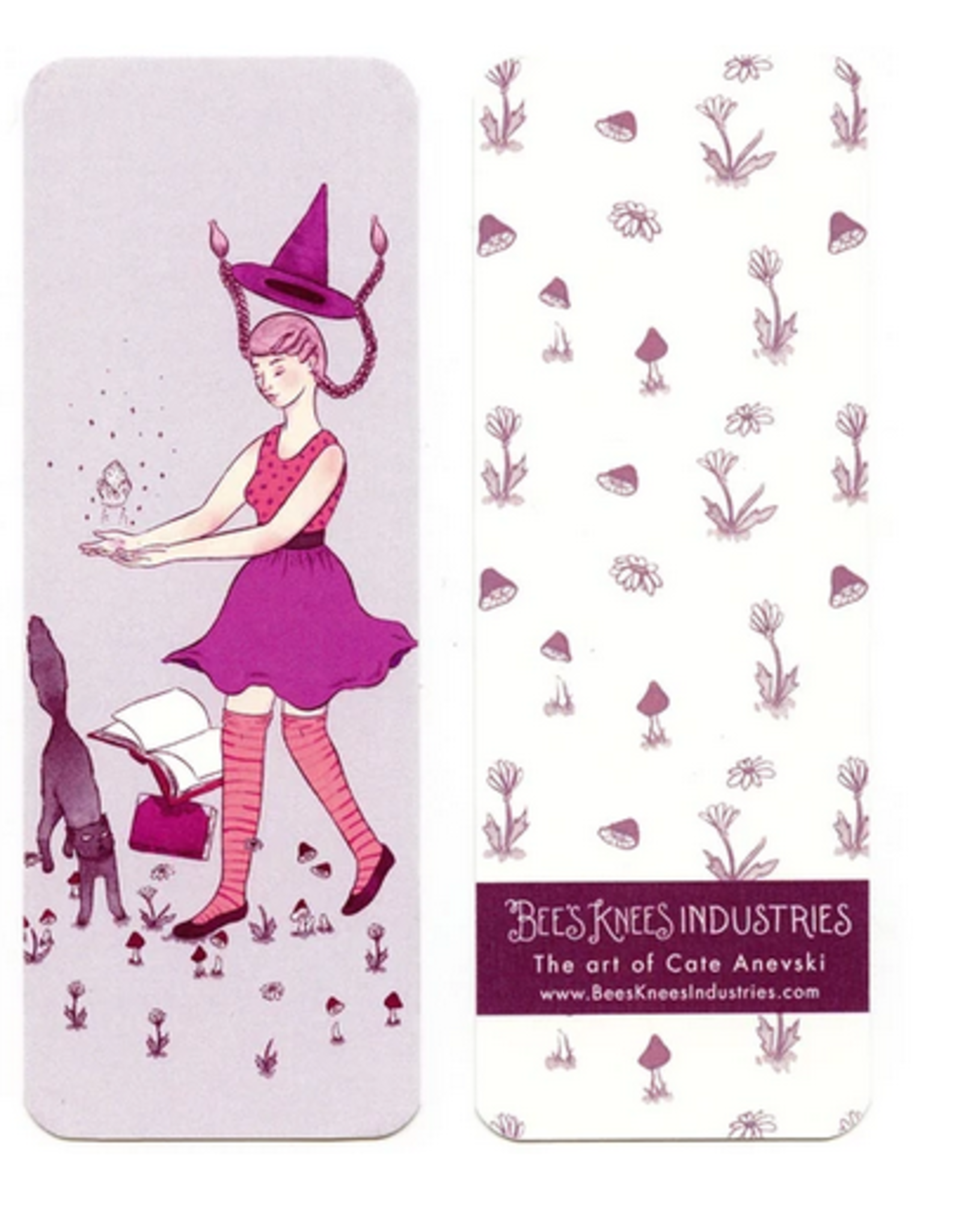 Bee's Knees Industries Levitation Witch Bookmark