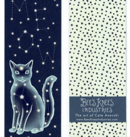 Bee's Knees Industries Celestial Cat Bookmark