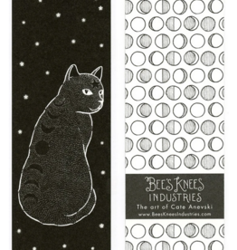 Bee's Knees Industries Moon Phase Cat Bookmark