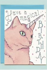 Bee's Knees Industries Caticorn Birthday Card