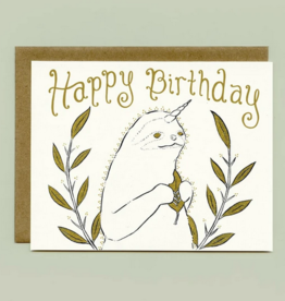 Bee's Knees Industries Slothicorn Birthday Card*