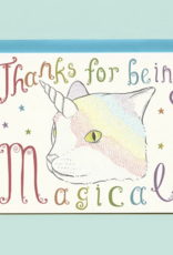 Bee's Knees Industries Caticorn Thank You Card