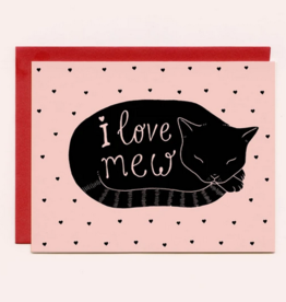 Bee's Knees Industries I Love Mew Love and Friendship Card