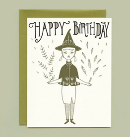 Bee's Knees Industries Hedge Witch Birthday Card