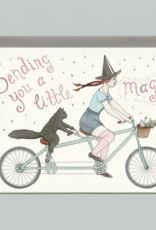 Bee's Knees Industries Tandem Witch Sympathy and Encouragement Card
