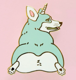 Bee's Knees Industries Unicorgi Enamel Pin