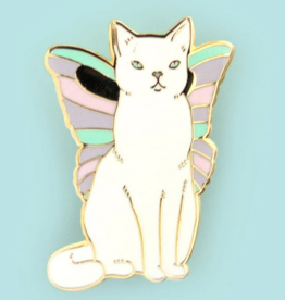 Bee's Knees Industries Catterfly Enamel Pin