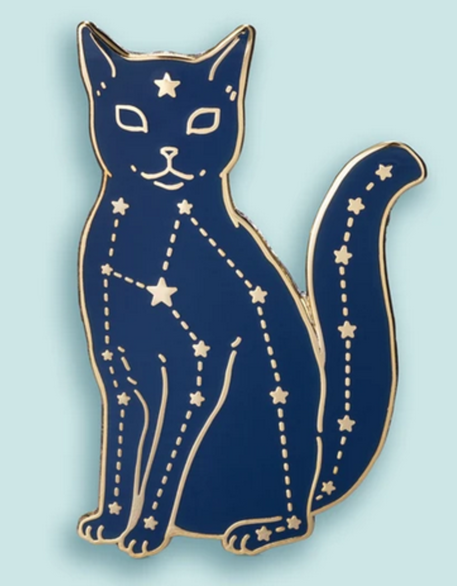 Bee's Knees Industries Celestial Cat Enamel Pin