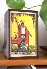 "Most Amazing Tarot - 1 - The Magician Full Color Box: 4""x6"""