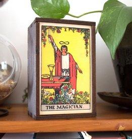 "Most Amazing Tarot - 1 - The Magician Full Color Stash Box: 4""x6"""