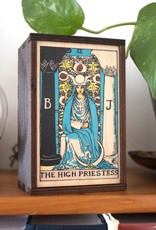 "Most Amazing Tarot - 2 - The High Priestess Full Color Box: 4""x6"""