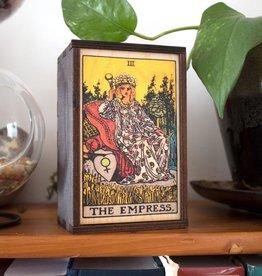 "Most Amazing Tarot - 3 - The Empress Full Color Stash Box: 4""x6"""
