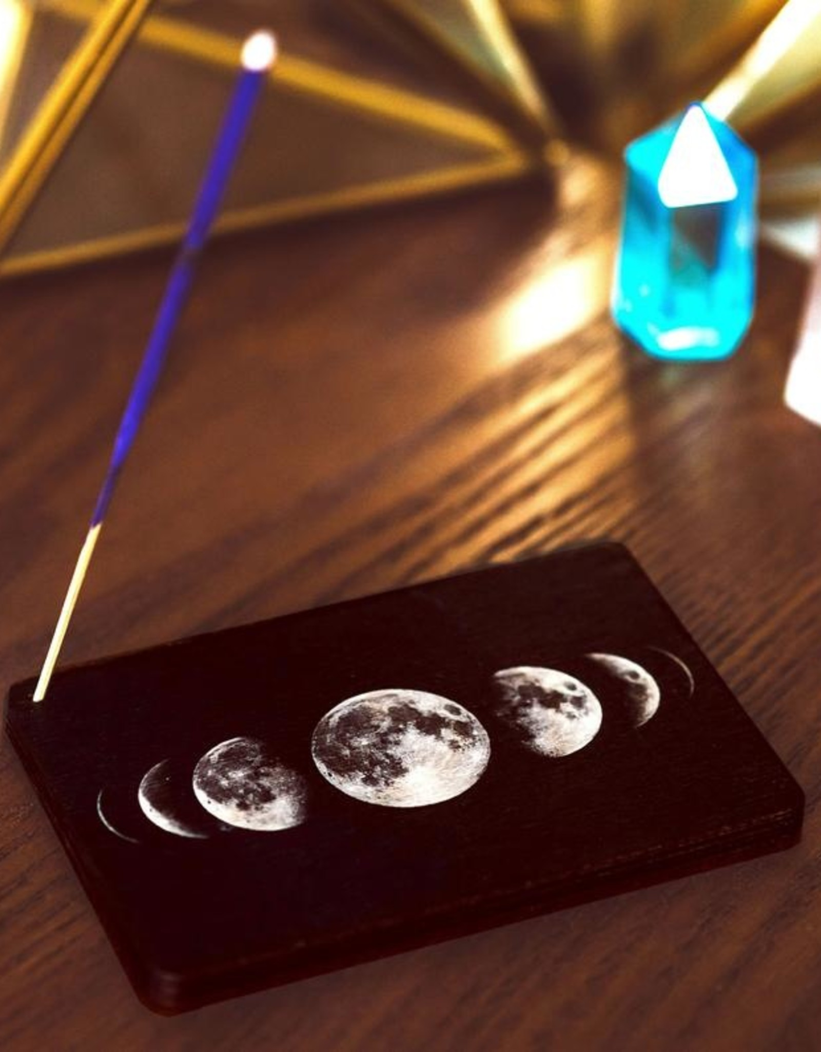 Most Amazing Moon Phases Full Color Stick Incense Burner