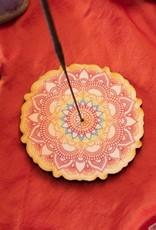 Most Amazing Mandala Full Color Stick Incense Burner