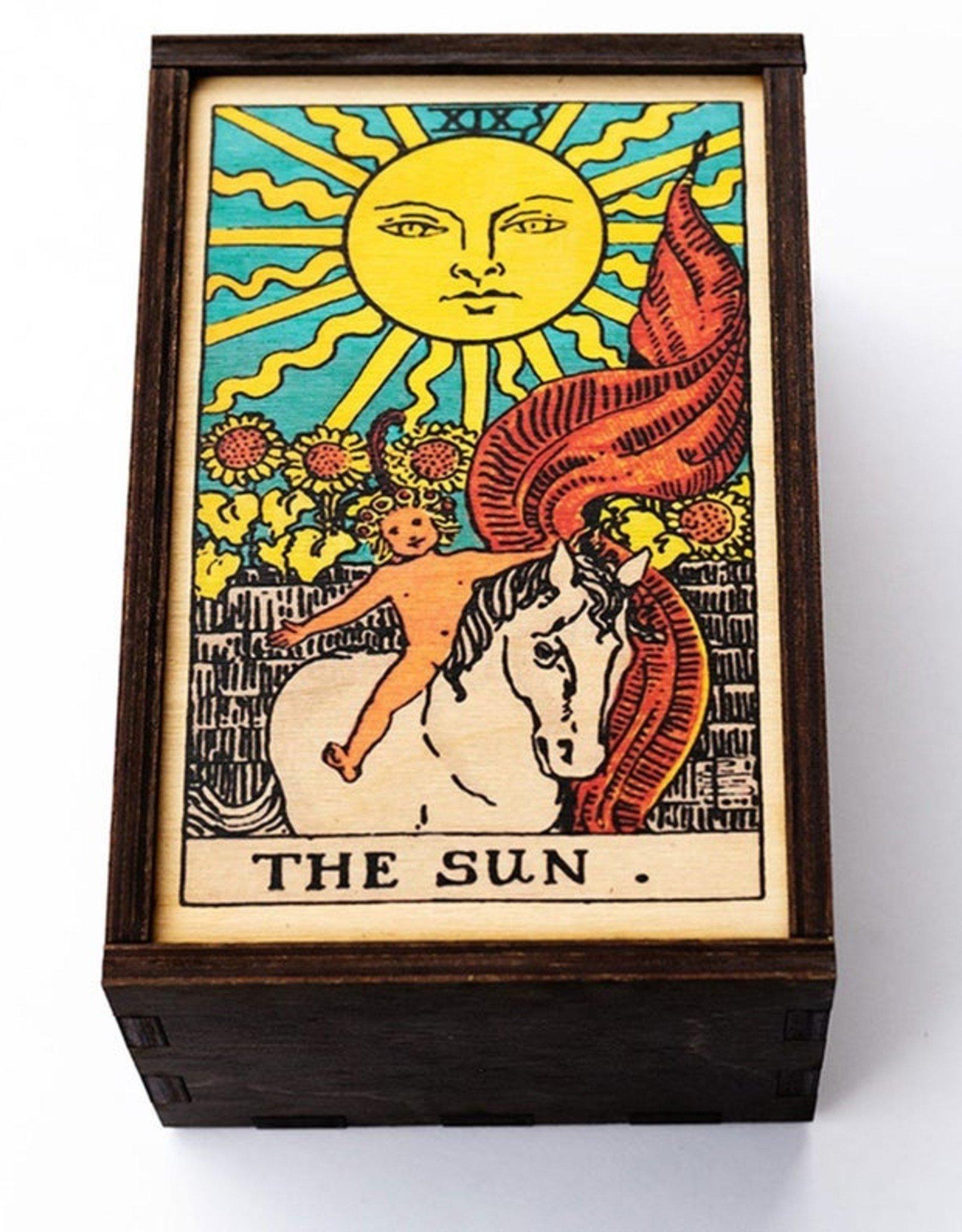 "Most Amazing Tarot - 19 - The Sun Full Color Box: 4""x6"""