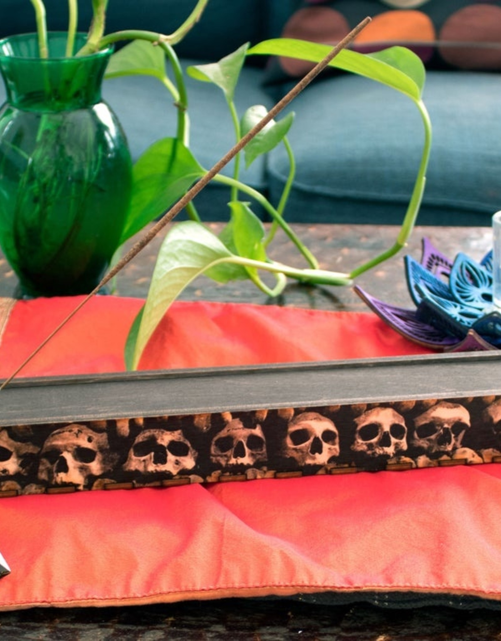 Most Amazing Skulls Full Color Stick Incense Burner Box