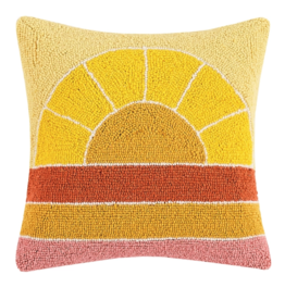 Peking Handicraft Retrorainbow Hook Pillow